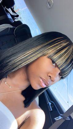 Dope Hairstyles, Weave Hairstyles, Hair Inspo, Hair Inspiration, Hair Laid, Doll Head, Blonde Highlights, Black Girl Magic, Hair Goals
