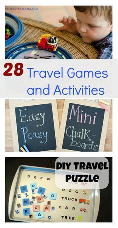 28 Travel Games and Activities + $500 #Giveaway - Family Food And Travel