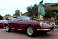 1967 Ferrari 330 GTC Pininfarina Maintenance/restoration of old/vintage vehicles: the material for new cogs/casters/gears/pads could be cast polyamide which I (Cast polyamide) can produce. My contact: tatjana.alic14@gmail.com