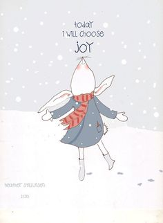 Today I Will Choose Joy. The joy of the Lord is our strength! {Nehemiah 8:10}