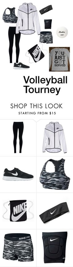 """""""Volleyball Tourney"""" by kadenirwin on Polyvore featuring NIKE"""