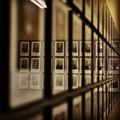 --- Photo by @fotosabol --- Auschwitz I. Block 6. Some of almost 40000 saved images of registered prisoners of Auschwitz.