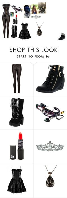 """""""Selisity and Loki"""" by catierollins on Polyvore featuring Paige Denim, Top Moda, Barnett and Kate Marie"""