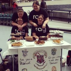 Cake sale in the Atrium today, in support of RAG. Photo by derbyuni