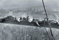 Folowing the lunch break - Charles Clyde Ebbets 1932 (RCA building)