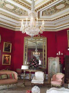 Un des nombreux salons de Basildon House - Basildon Park