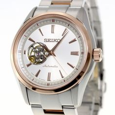 Jdm, Chronograph, Seiko Presage, Young Fashion, Seiko Watches, Rose Gold Color, Automatic Watch, Watch Brands, Stainless Steel Case