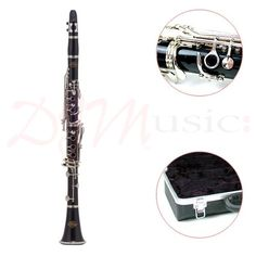 J.Michael Bb Student Clarinet Outfit - A Superb instrument! This clarinet comes straight from the hands of the renowned J Michael, who have an increasingly glowing reputation, of providing the world with beautifully crafted instruments.