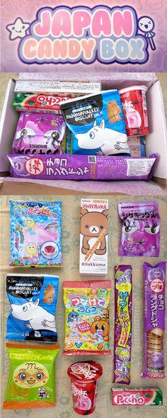 #JapanCandyBox August