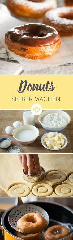 Welcher ist der beste Teig?Kann ich Donuts auch im Backofen backen? Und was ist eigentlich ein Donutmaker?Geballtes Donut-Wissen…