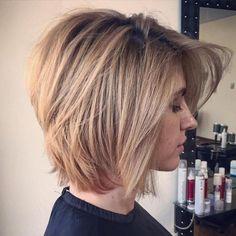 Cute Layered Bob Haircuts