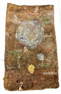 Junko Oki Ground, 2015 embroidery
