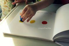 """""""Press Here"""" book activities #crayonfreckles"""