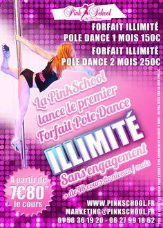 Pole Dance Illimité à Paris !
