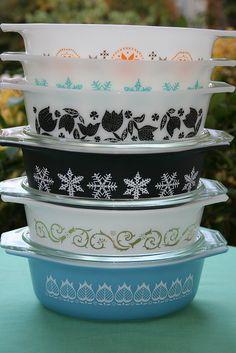 Pyrex Casserole Dishes by StephanieLynn1974, via Flickr