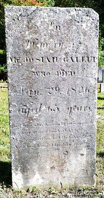 Granite in My Blood: Tombstone Tuesday: Josiah GALLUP #genealogy