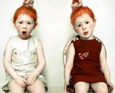 ola and olek.these two lil' redheads are waaay cute I Love Redheads, Redheads Freckles, Beautiful Red Hair, Gorgeous Redhead, Beautiful Children, Beautiful People, Ginger Babies, Carrot Top, Natural Redhead