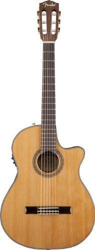 Fender Acoustic Guitars Classical Series Classical Guitar, Rosewood Fingerboard 960326021