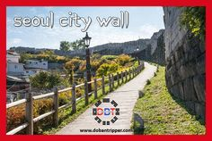 Seoul City #Wall The #Seoul City Wall was originally built in 1396, surrounding Hanyang (present-day Seoul) during the Joseon Period (1392-1987). The wall stretches for 18.6km along the ranges of Bugaksan (Mt.), Naksan (Mt.), Namsan (Mt.), and Inwangsan(Mt.), and stands at average height of 7~8m.