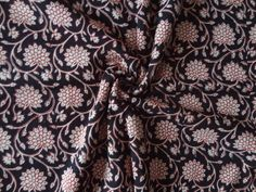 Items similar to Floral pattern vegetable dyes block print fabric cotton Fabric By Yard Womens clothing dress fabric vegetable dyes Indian fabric curtain on Etsy Dress Clothes For Women, Indian Fabric, Alexander Mcqueen Scarf, Printing On Fabric, Cotton Fabric, Colours, Trending Outfits, Floral, Pattern