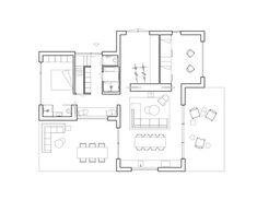 Residência Villa Tonden / HofmanDujardin   ArchDaily Brasil Architecture Design, Clad Home, Bali House, Villa, Garden Studio, Ground Floor Plan, House Drawing, New House Plans, Stunning View