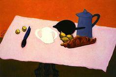 Pink Tablecloth  Milton Avery,1944