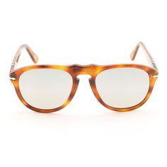 f602a914c4 Persol PO0649 96 82 54mm Light Havana Sunglasses with Grey Photochromic  Polarized Lenses - Theaspecs