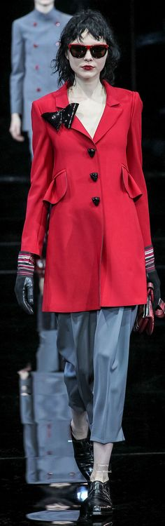 Emporio Armani Collections Fall Winter 2015-16 collection