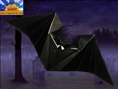Hungry Bat by Anita Barbour  Step by Step Video Tutorial  http://www.origami-kids.com/paperairplanes-2-hungry-bat.htm