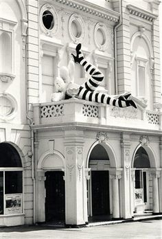 The Duke of York, Cinema, Preston Circus, Brighton, East Sussex [before removal of the 'legs' to the roof]. Brighton Rock, Brighton Sussex, Brighton Houses, Brighton And Hove, East Sussex, Old Pictures, Old Photos, Beautiful Buildings, Beautiful Places