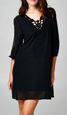 Miss Etam Regulier lange blouse Dress Outfits, Casual Dresses, Fashion Outfits, Womens Fashion, Work Outfits, Plus Size Maxi Dresses, Short Sleeve Dresses, Dresses For Work, Sheer Chiffon