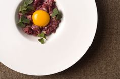 Venison tartare. You know you want it... Recipe on http://honest-food.net