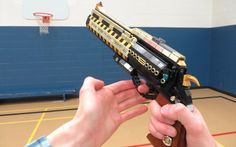 LEGO The Last Word - Destiny Destiny Hand Cannon, Scrap Mechanics, Star Wars Coloring Book, Lego Guns, Lego Challenge, Lego Pictures, Lego Military, Lego Room, Lego War