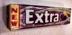 COLLECTORS Extra Fruit Sensations Berry Pearadise DISCONTIUNED New Unopened Gum