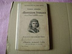 Antique French School Book