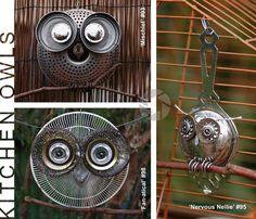 Kitchen owls  Find, Make, Do: Focus on Art