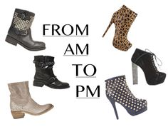 Finding the perfect ankle boot can be a chore, not only do they need to be practical but they also need to keep your toes looking fashionable. For a casual look opt for a pair of studded work boots, the relaxed style is comfy but the added studs also provide a trendy and dressed-up edge. Come evening, you can't go wrong with heels and these three statement shoe boots are guaranteed to stand you out from the fash pack.   Shop: http://www.miinto.co.uk/styleguide-from-am-to-pm-16