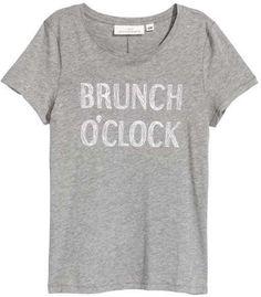 Brunch O'clock T-shirt  - I love brunches! [ad]