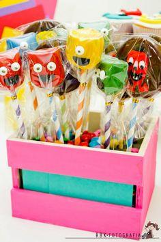 Fiesta Temática de Monstruos - Monsters   Arcos con Globos - Decoración de Fiestas Infantiles : Fiestas Infantiles Decoracion