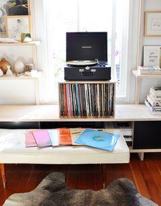 hi-fi design / vinyl record dividers from kate koeppel designs