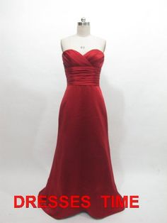 Nice Evening Dresses plus size Red bridesmaid dress... Check more at https://24myshop.tk/my-desires/evening-dresses-plus-size-red-bridesmaid-dress/