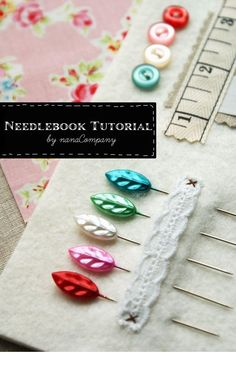 NEEDLEBOOK TUTORIAL