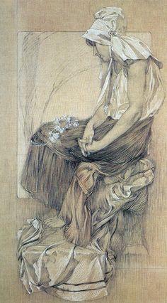 Alphonse Mucha  b.1860-1939
