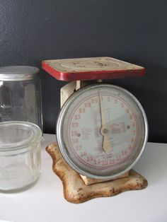 LOVE my OLD SCALES!--commercial deli and home style..