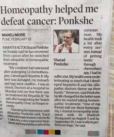 Homeopathy can help in stage 1 cancer.