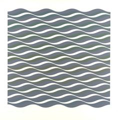 Bridget Riley 'Coloured Greys III', 1972 © Bridget Riley 2014. All rights reserved, courtesy Karsten Schubert, London
