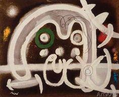 Joan Miró - Mensch und Vogel
