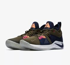 "low priced b3113 83958 2018 Nike PG 2 ACG EP ""Olive Canvas"" Basketball Shoes Free Shipping"