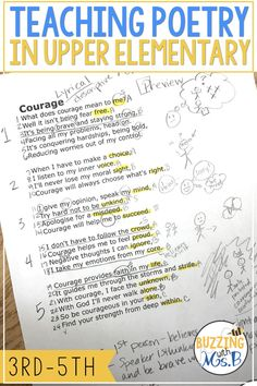 Teaching upper elementary students to comprehend poetry doesn't have to be impossible. The POETS acronyms is an easy-to-remember, versatile strategy … Poetry Lessons, Reading Lessons, Reading Projects, Math Lessons, Teaching Poetry, Teaching Reading, Poetry Anchor Chart, Anchor Charts, Types Of Poems