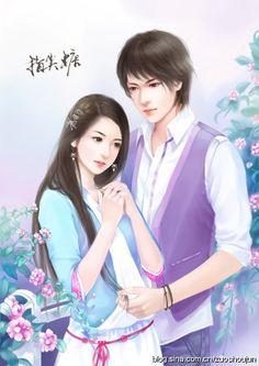 Visit the post for more. Cute Couple Cartoon, Cute Cartoon Pictures, Cute Couple Art, Anime Love Couple, Manga Couple, Sweet Couple, Fantasy Couples, Fantasy Girl, Korean Art